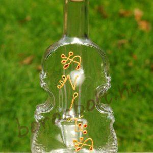 Hegedű Üvegpalack 0,2 Literes Festéssel is
