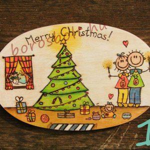 Karácsonyi Fa Ajtódísz, Kézműves