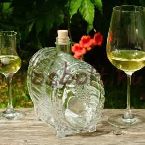 Pálinkás Boros Whiskys Csapos Üveghordó 1,5 Literes
